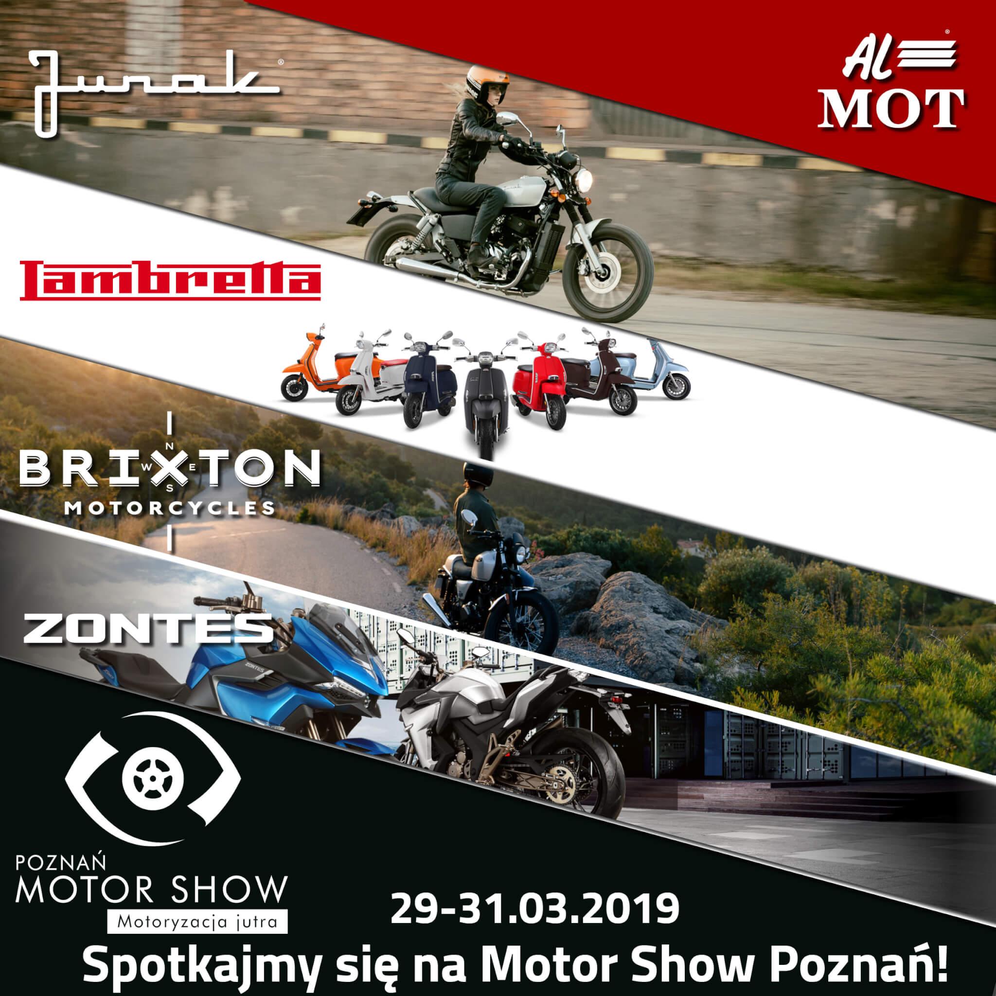 Junak na Motor Show 2019: Przyjdź i wygraj wymarzony motocykl 125