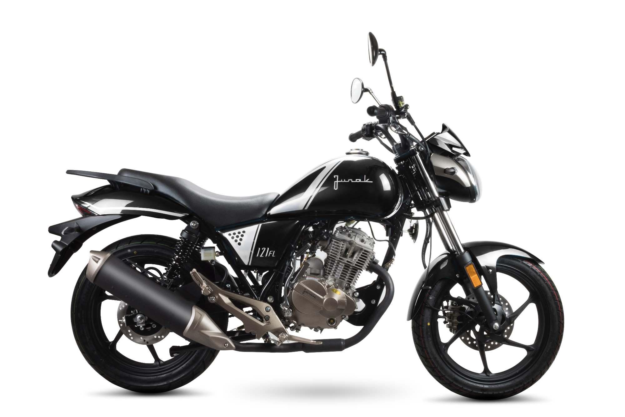Junak 121 FL 125 w salonach: Optymalny motocykl dla początkujących z prawem jazdy kategorii B.