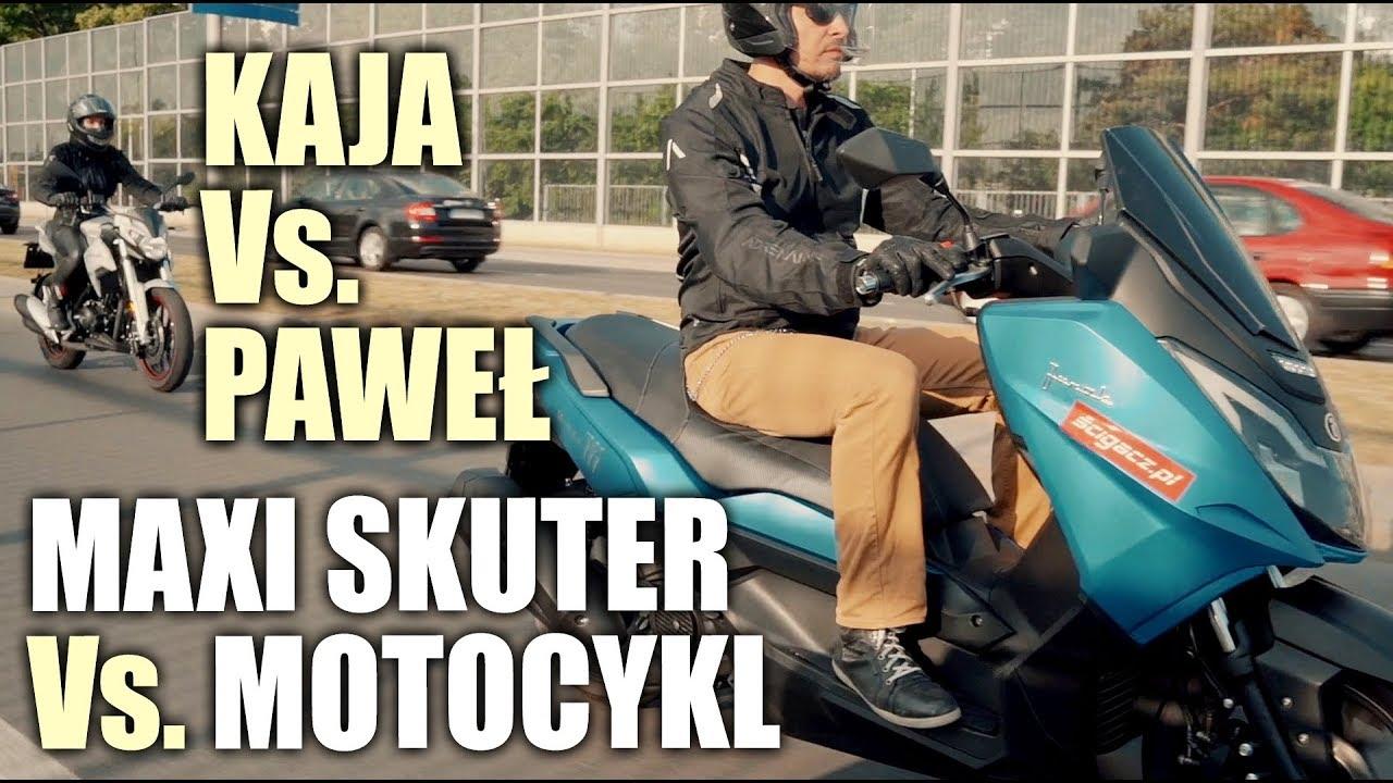 Czy maxi skuter może być lepszy od motocykla? Junak Maxi 711 vs. Junak RSX